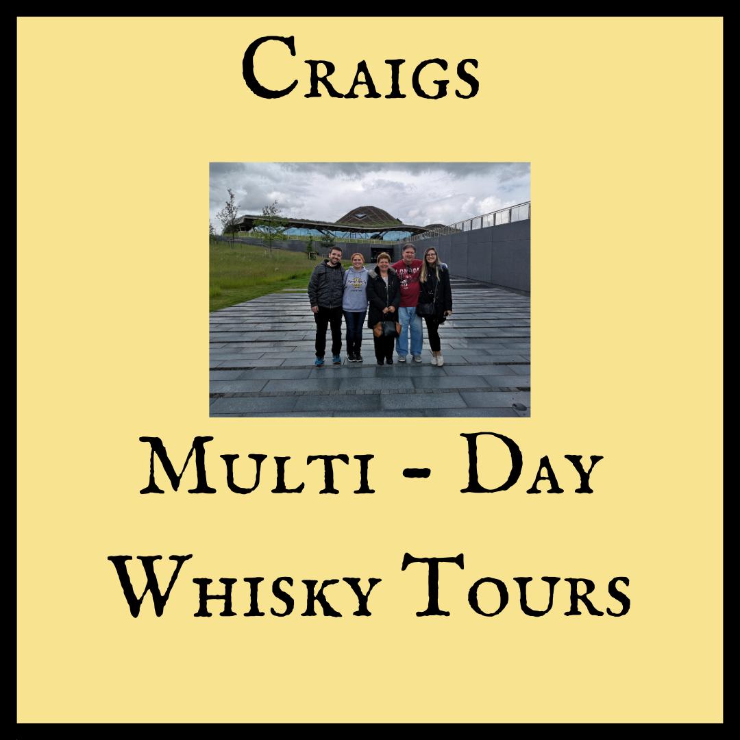 Multi day whisky tour